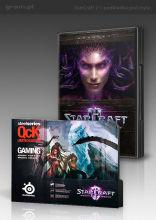 StarCraft II i Diablo III  z podkładką