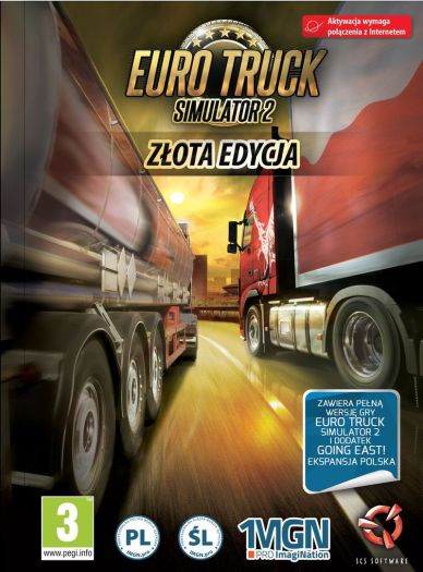 euro truck simulator 2 z ota edycja wersja cyfrowa. Black Bedroom Furniture Sets. Home Design Ideas
