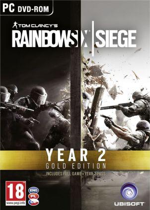 Tom Clancy's Rainbow Six Siege - Gold Edition Year 2 (EMEA) - wersja cyfrowa