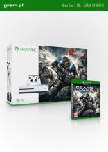 Konsola XBOX ONE S 1TB z Gears of War 4
